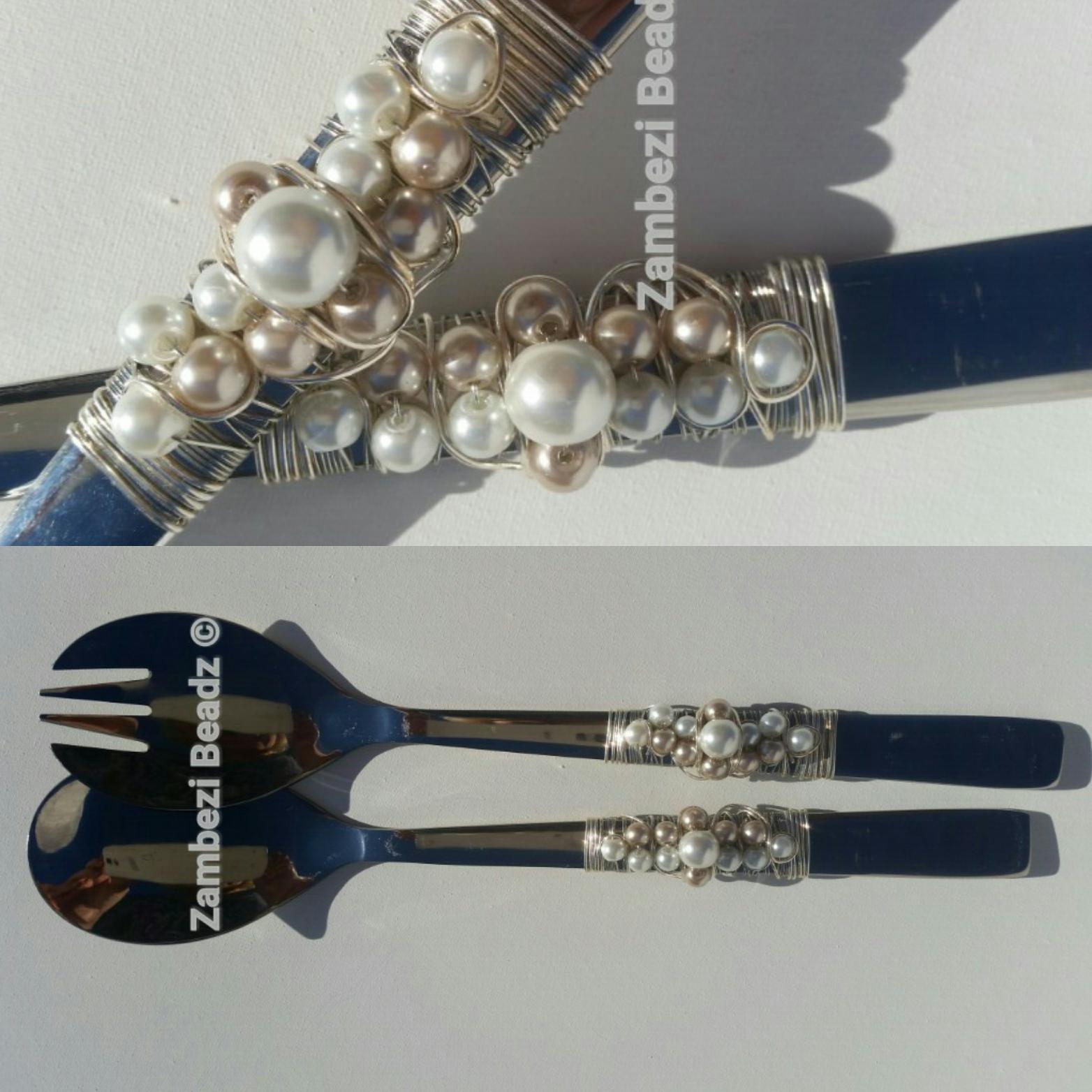 Fabulous salad servers for table styling