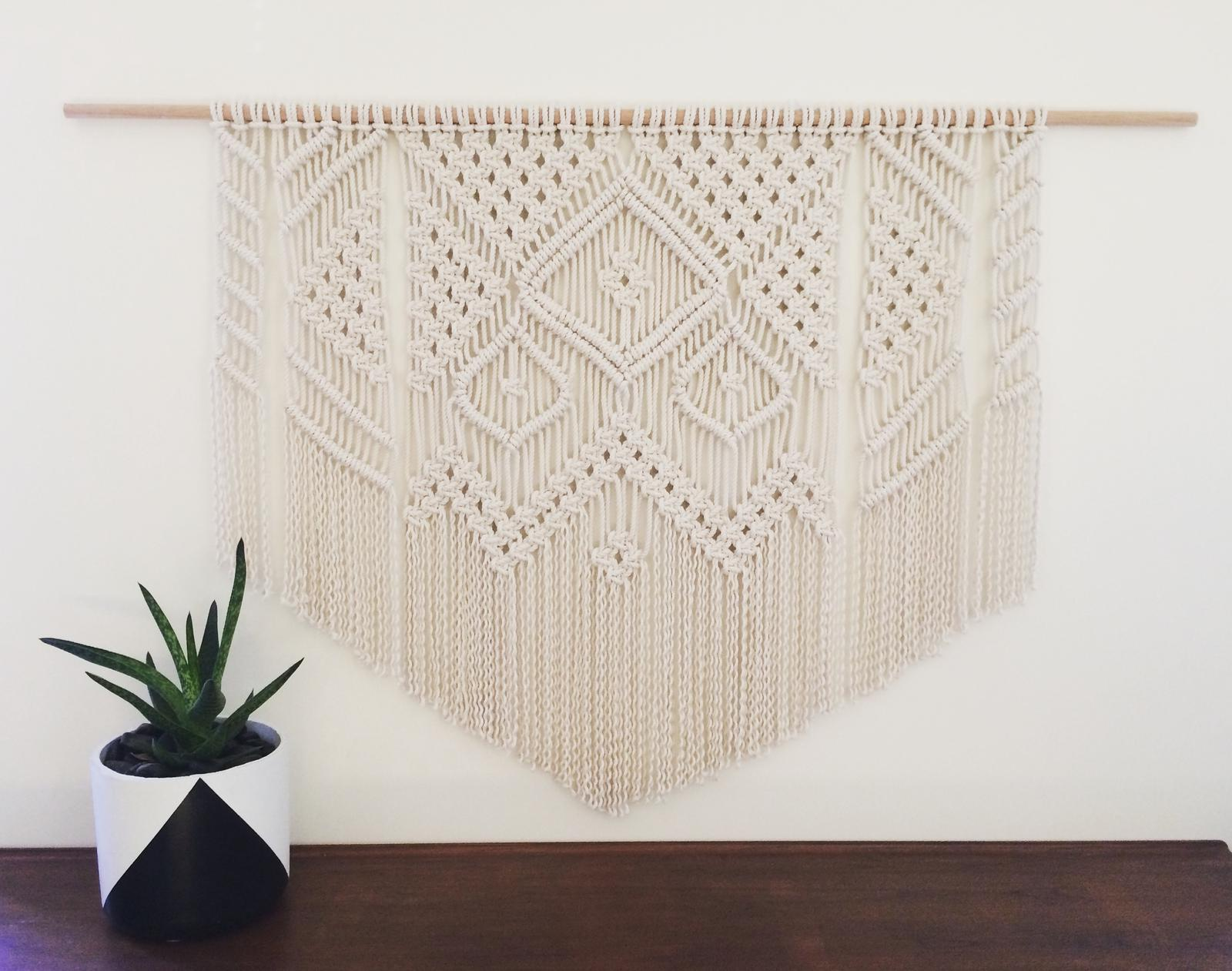 Large custom wall hanging