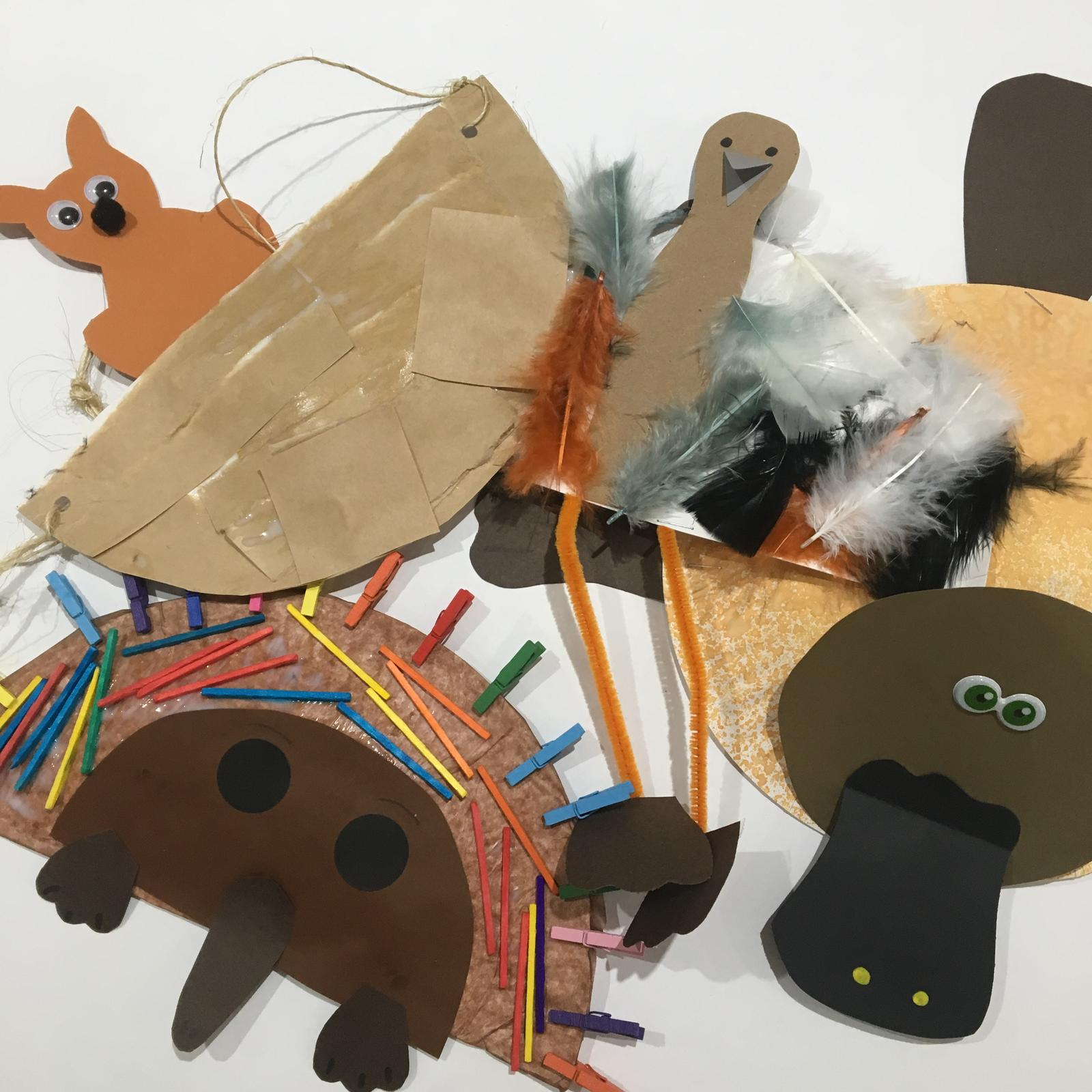 Activity Kit Australian Animals 2-3 year olds