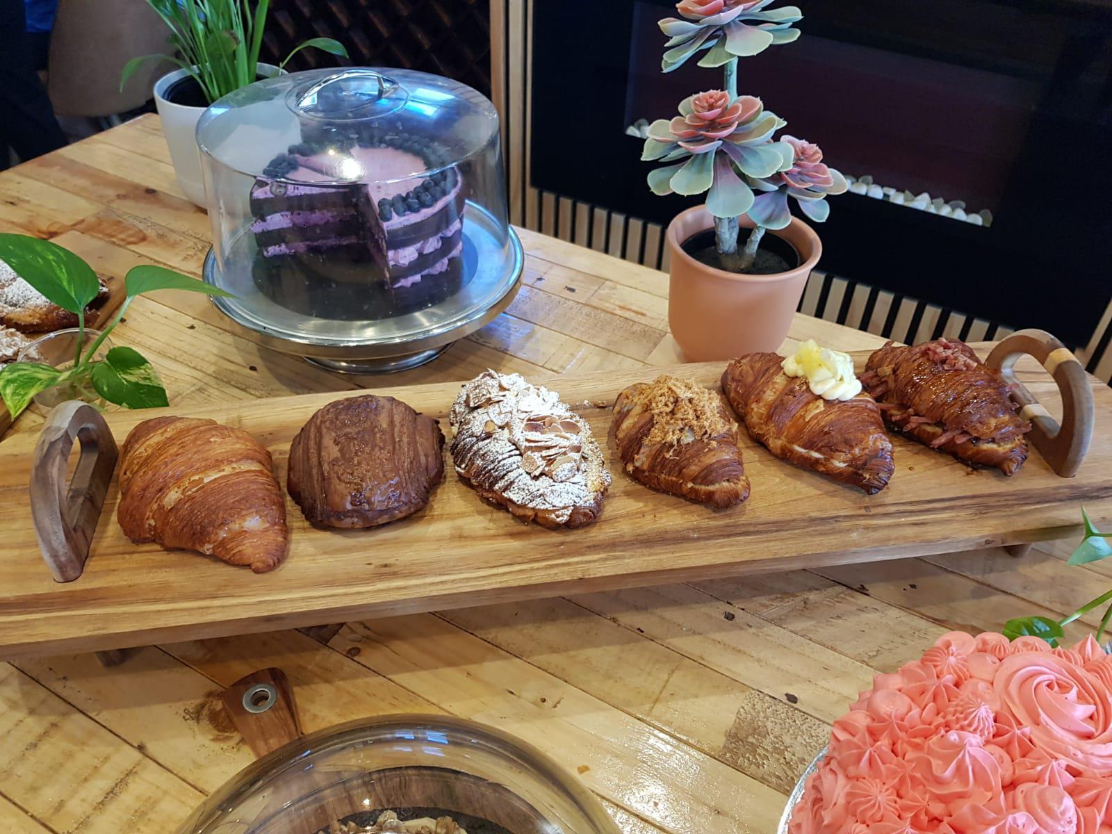 Croissants Display