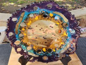 d squared glass art