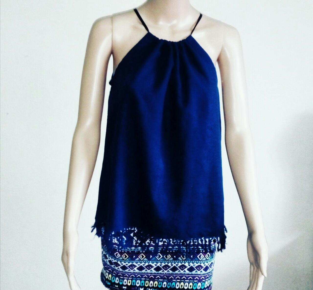 Pure batik ladies short kaftan