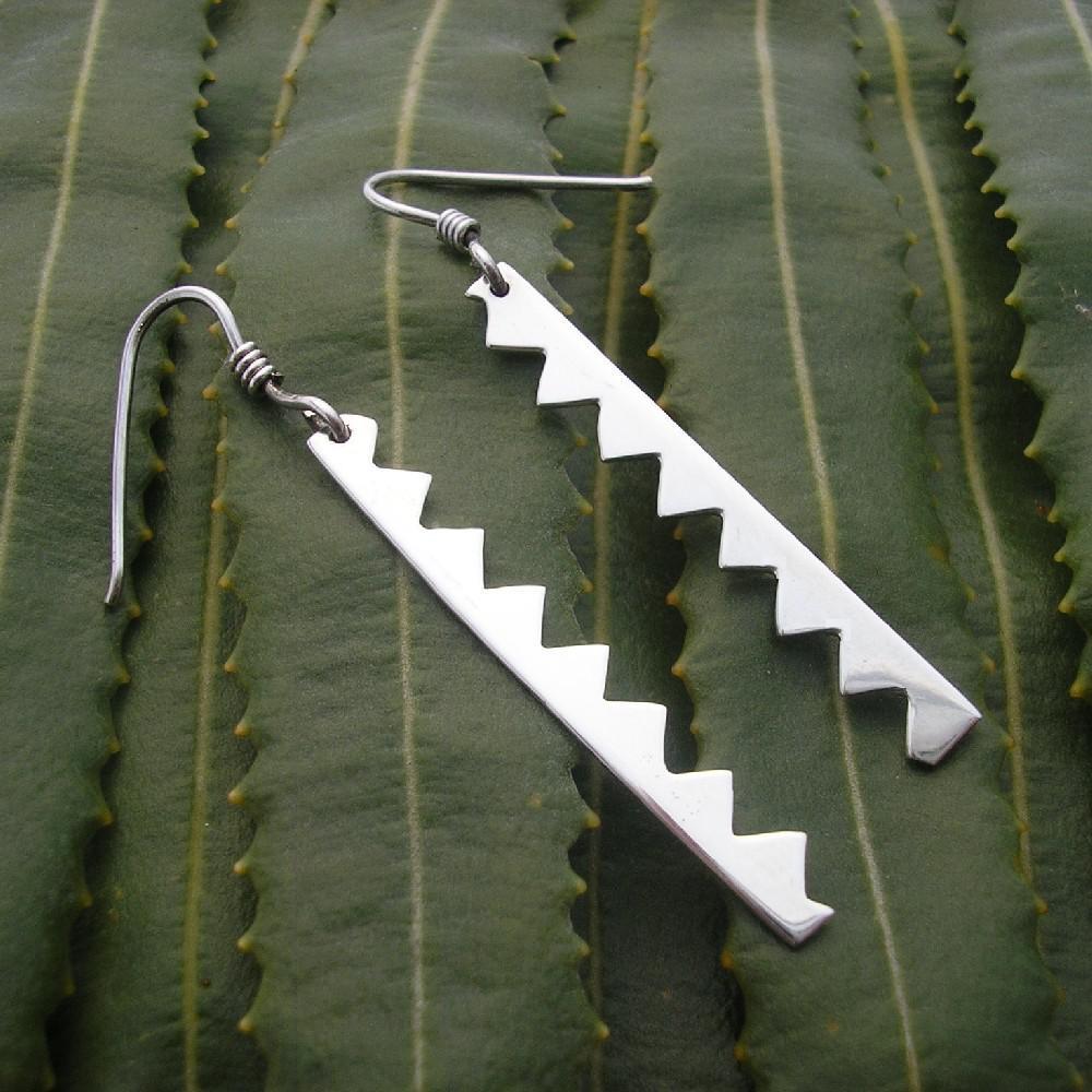 Banksia Leaf Earrings