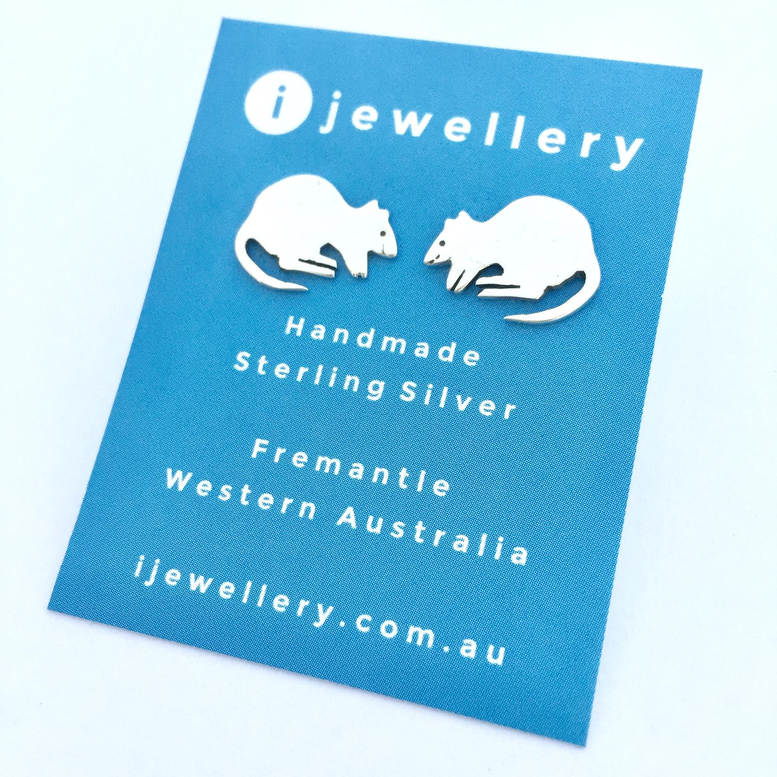 Quokka Earrings