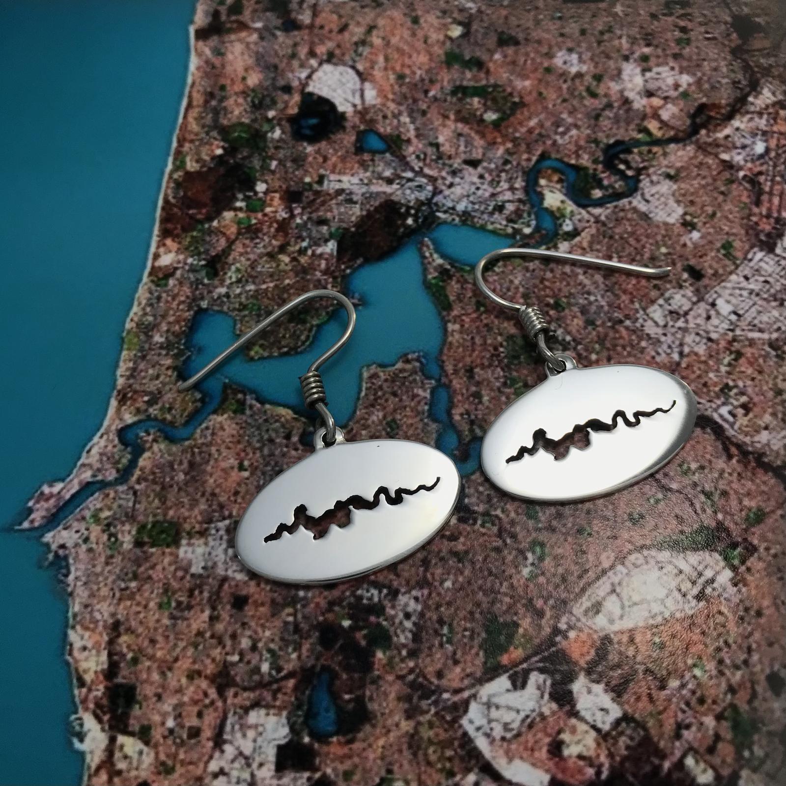 Swan River Earrings