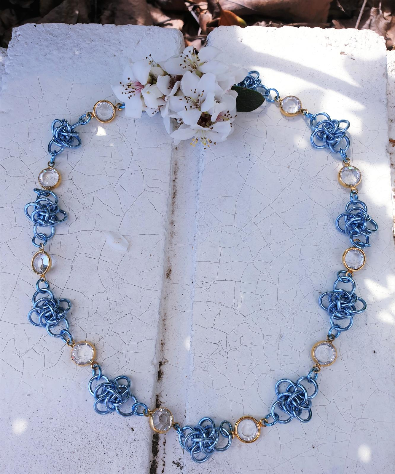 Persephone crystal necklace