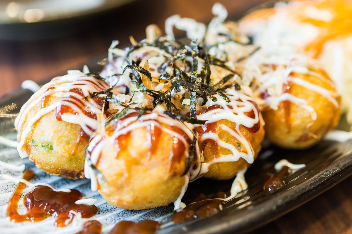 Snacks: Takoyaki Otupus Balls