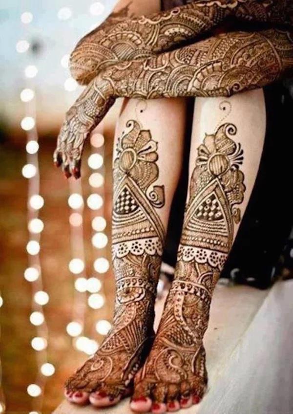 organic henna body art