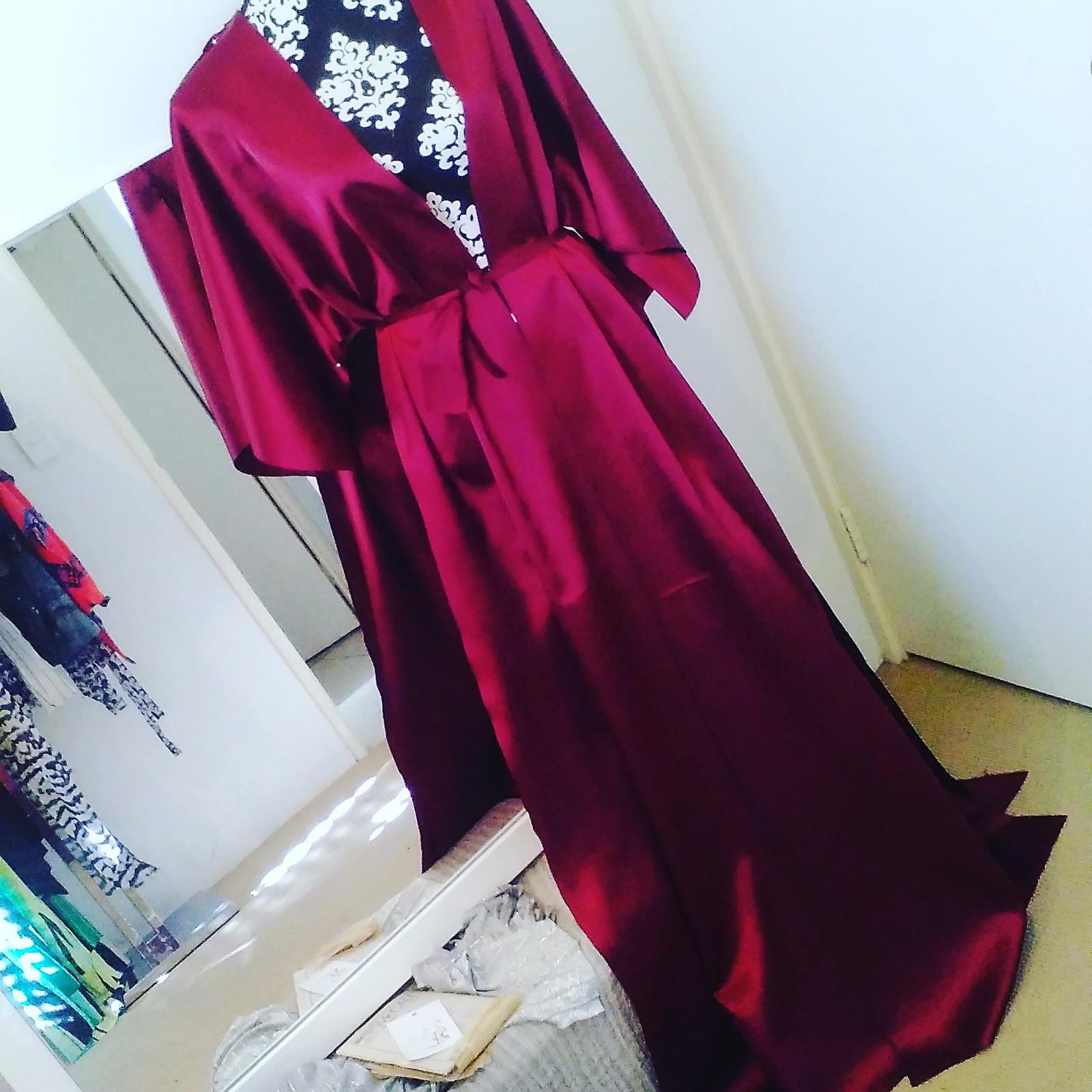 gown in the creation progress