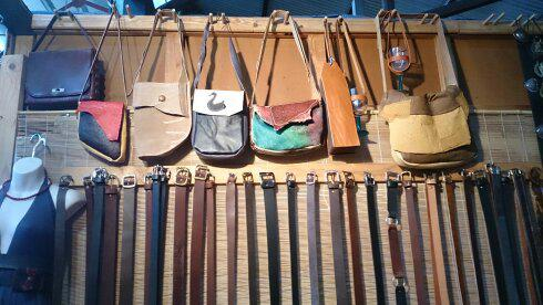 Assorted Belts and Bags