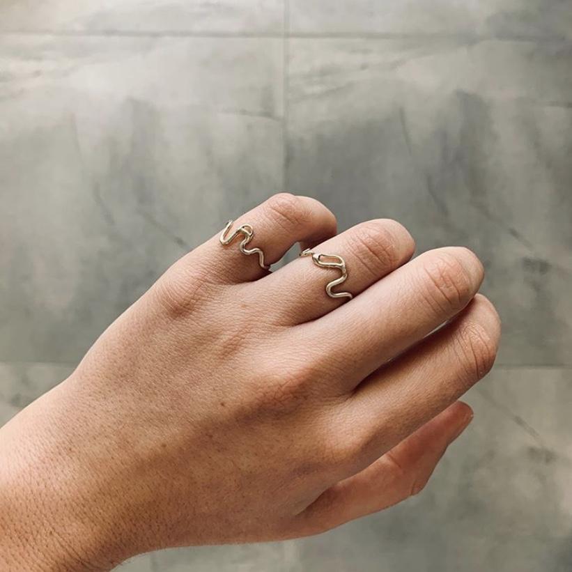 Wiggle rings