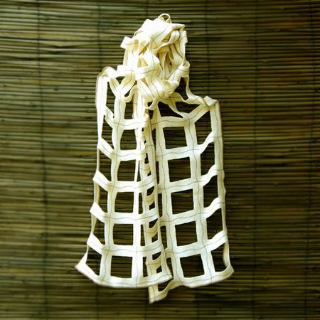 'yang' ivory wrap
