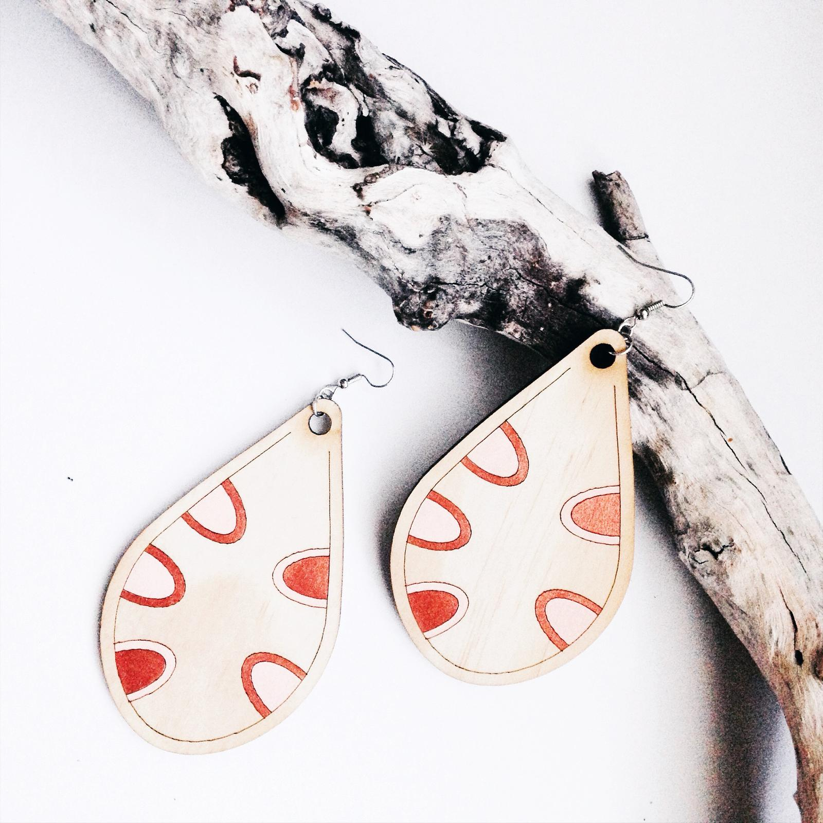 Statement Earrings - Banksia Seed