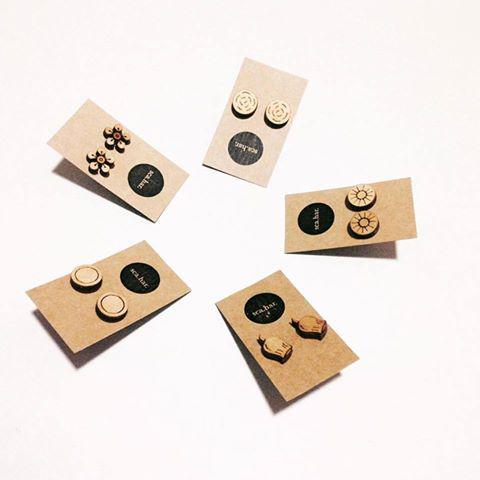 sca.har. laser cut earrings