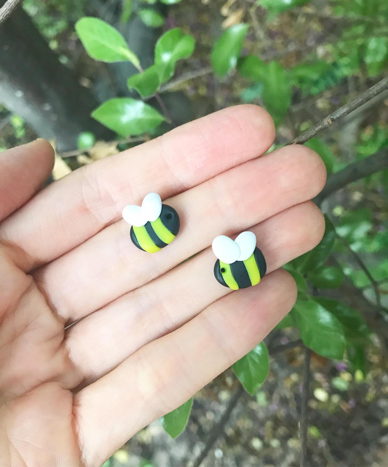 Stud Earrings - Bees