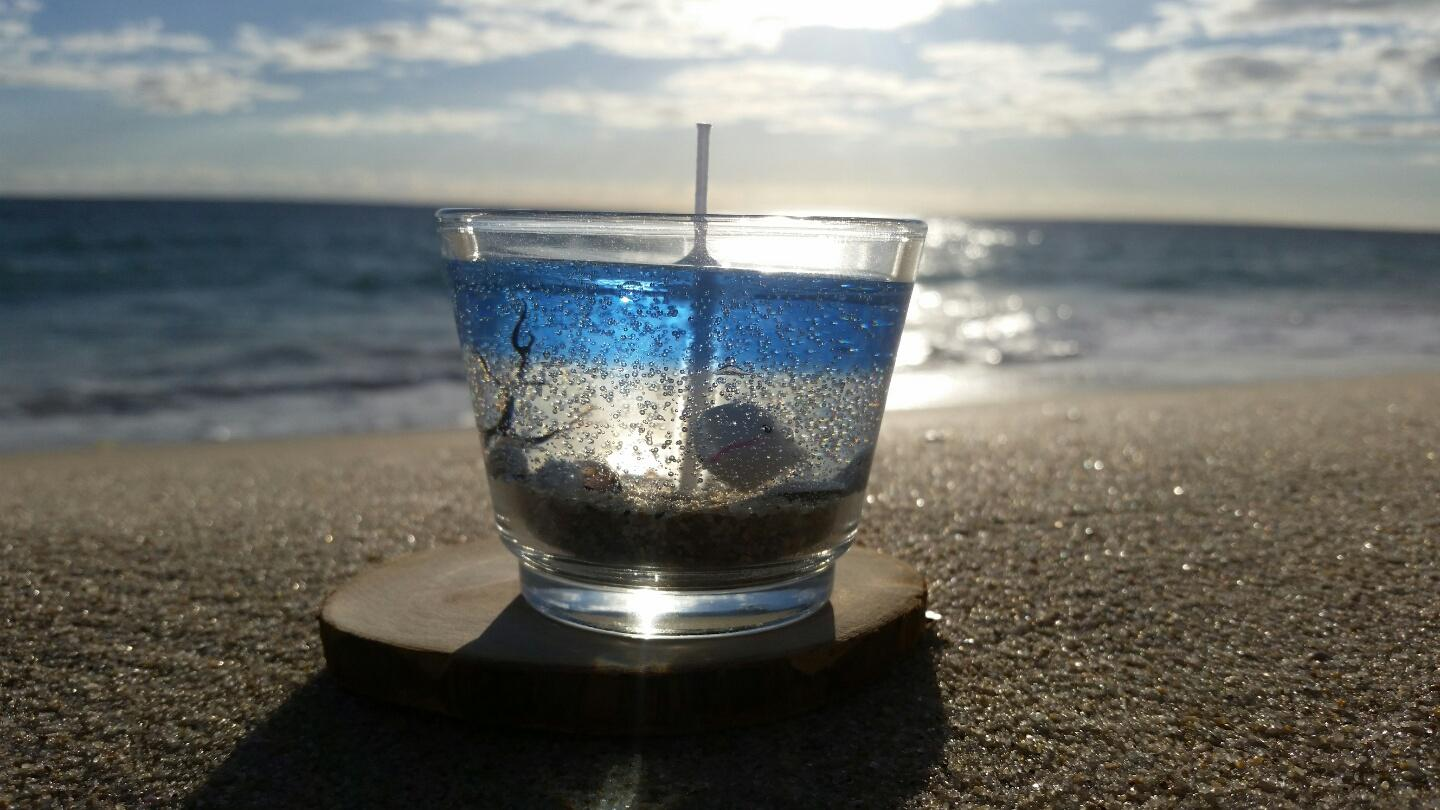 Sea & Beach Gel Candles(1)