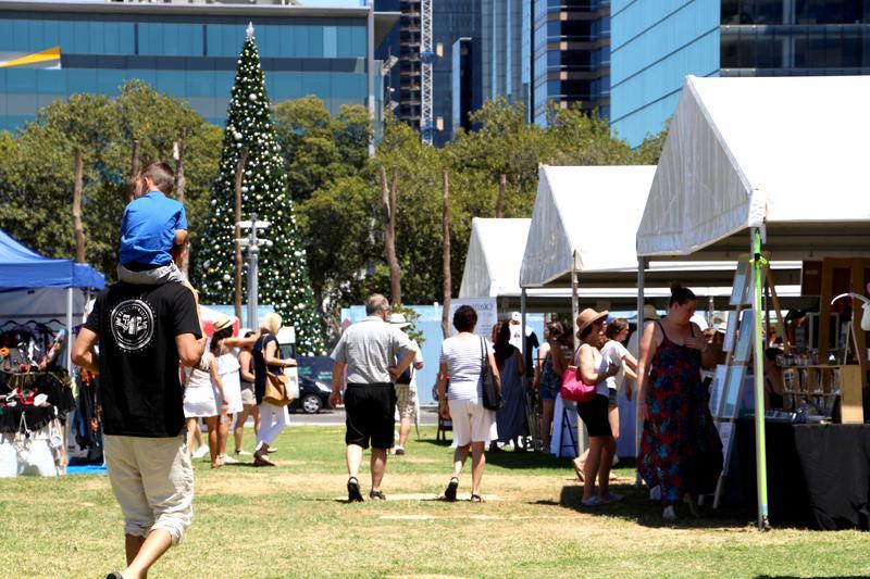 2 Day Christmas Market at Elizabeth Quay Promotional Image